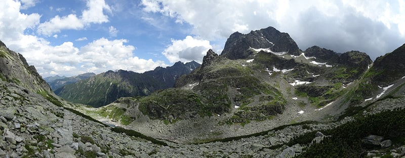 Najwyższy szczyt Tatr Polskich - Rysy